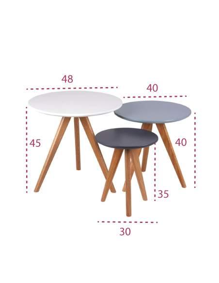 Medidas mesas de centro lucio de somcasa