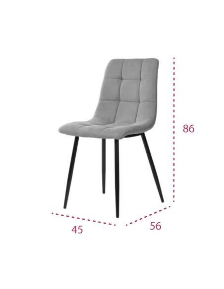 Medidas silla confidente Bimba de somcasa