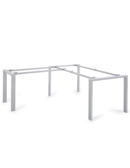 Estructura de escritorio en forma de L Pórtico de JGorbe