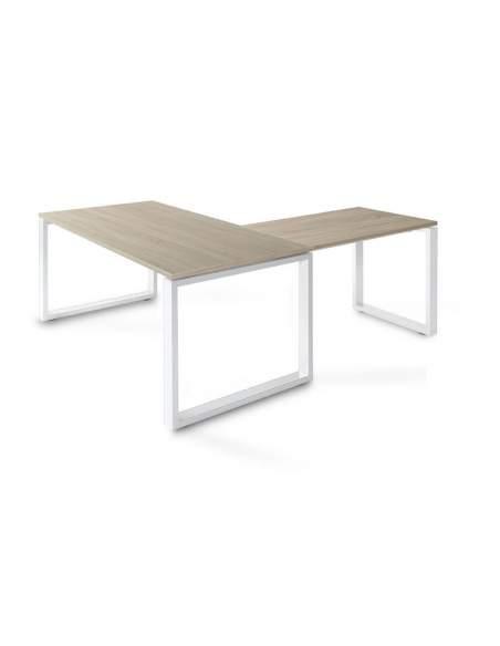 Mesa escritorio esquina Skala de JGorbe en olmo