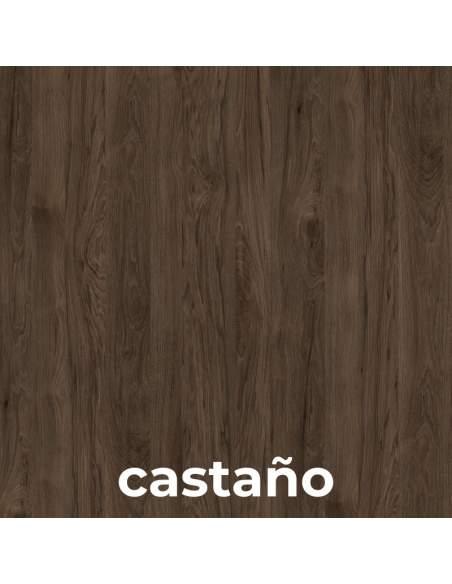 Mesa de reuniones Metrik de Kesta en color castaño