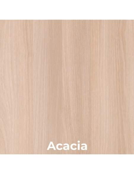 Escritorio esquinero madera acacia