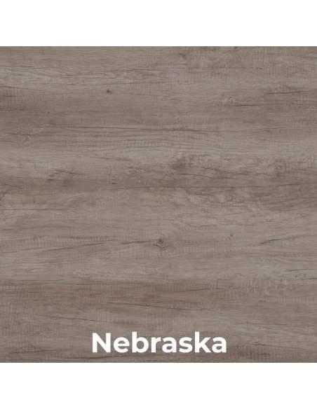 Escritorio de oficina Eco de Jgorbe en madera nebraska