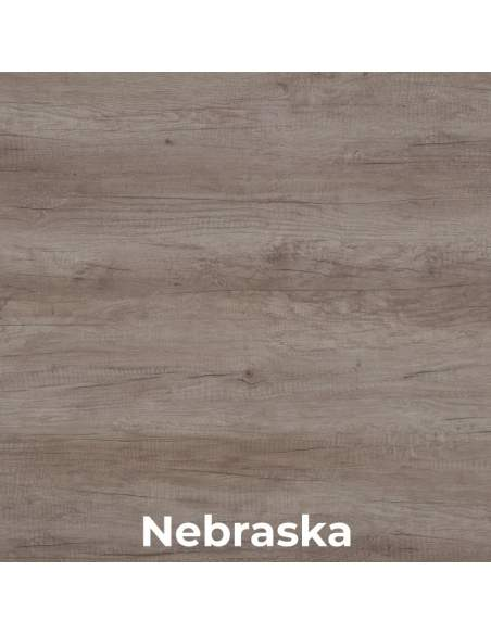 Mesa de oficina Aneto de madera de nebraska
