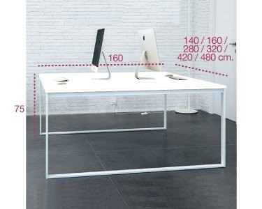 Medidas bench isla de trabajo marco aic