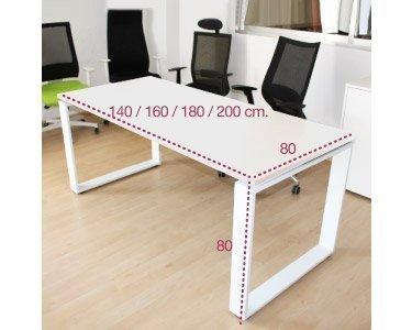 Medidas mesa de despacho cuadro de aic