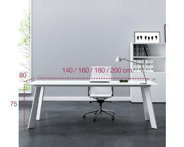 Medidas mesa de dirección Play serie rec de aic