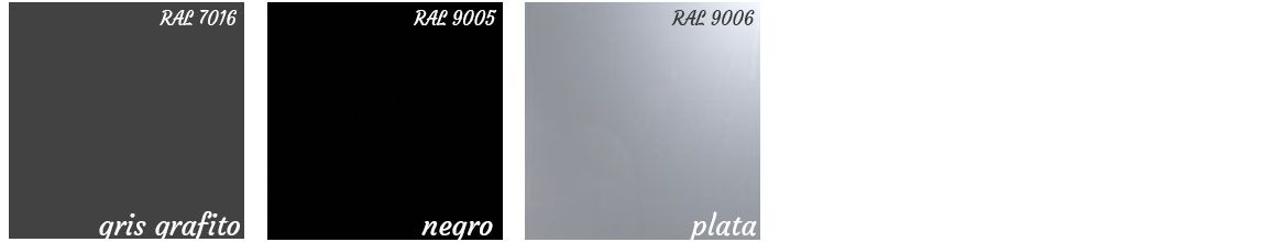 Colores armario metálico persiana de gapsa