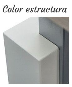 Color acabado estructura Eco