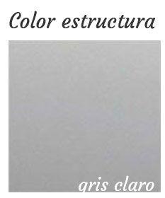 color estructura metálica