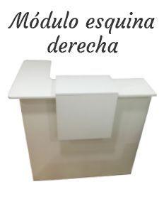 Mostrador Basic, módulo esquina derecha