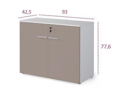Medidas armario bajo con puertas serie G3