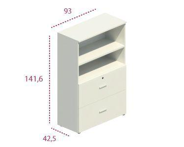 Medidas armario mediano archivador