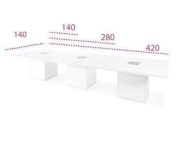 Medidas mesas de reuniones serie G3