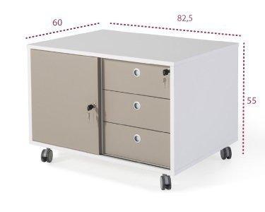 Medidas mueble auxiliar de la serie G3