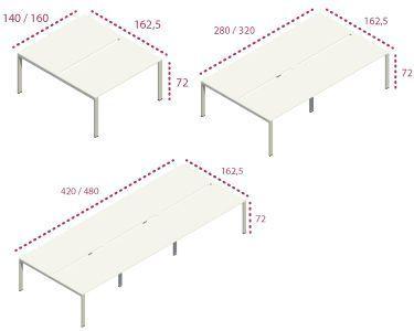 Medidas Bench Pie Pórtico