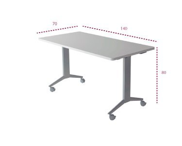 Mesa plegable polivalente