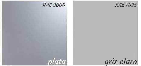 Colores acabados armario metálico persiana vertical envío express