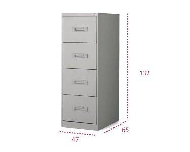 Medidas mueble archivador 4 cajones con envío express