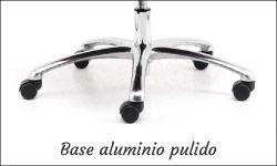 Base aluminio pulido