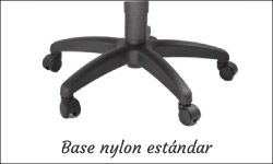 Base nylon negro