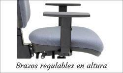 Brazos regulables en altura de tecno ofiss