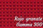 Rojo granate gamma