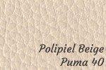 Polipiel beige puma 40
