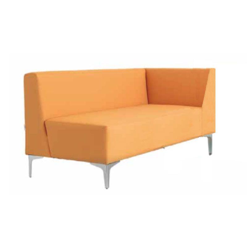 Módulo recto con brazo sofá curve