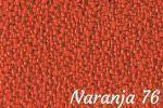 Tapizado naranja 76 para sofá curve