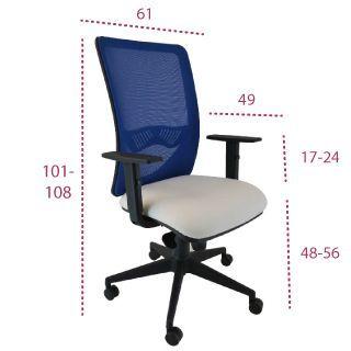 Medidas silla ergonómica chaplin de vincolo