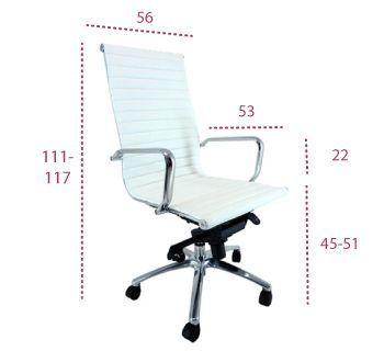 Medidas sillon oficina jr de vincolo