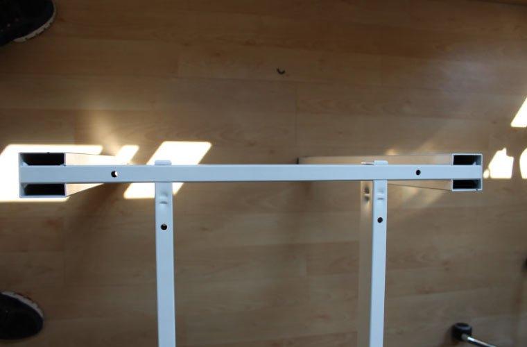 Detalle estructura de la mesa Arco