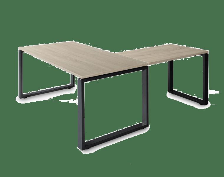 Serie Skala: mesas de despacho, cajoneras con ruedas ...