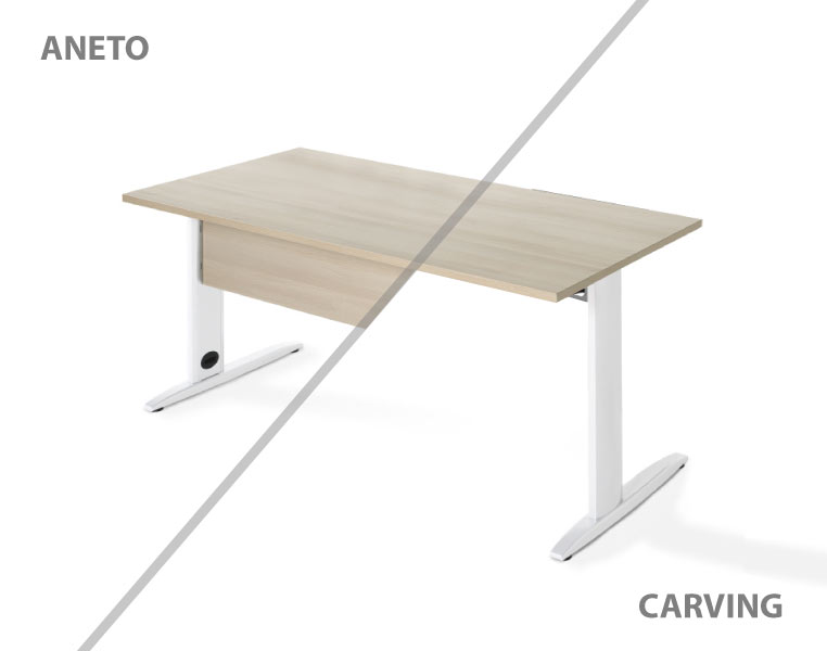 Mesa serie Aneto y Carving